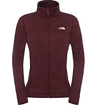 The North Face Kyoshi Full Zip Jacket Damen Fleecejacke, Red