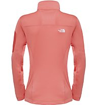 The North Face Kyoshi Full Zip Jacket Giacca in pile trekking donna, Orange