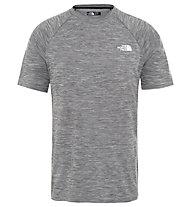 The North Face Impendor Seamless - T-Shirt sport di montagna - uomo, Grey