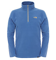 The North Face 100 Glacier 1/4 Zip Pullover, Dish Blue