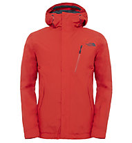 The North Face Descendit Skijacke, Red