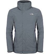 The North Face Evolution II Triclimate - Doppeljacke mit Kapuze - Herren, Grey