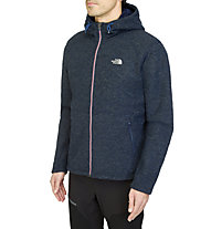 The North Face Zermatt Full Zip giacca con cappuccio, Cosmic Blue Heather