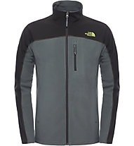 The North Face Glacier Trail Jacke, Spruce Green/TNF Black