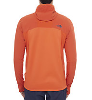 The North Face Jackster Hybrid Hoodie, Zion Orange
