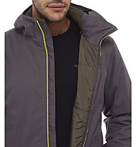 The North Face Quest Insulated Jacke, Black Ink Green