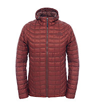 The North Face Thermoball giacca con cappuccio, Brick House Red/Sequoia Red