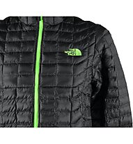 The North Face Thermoball Kapuzenjacke, Asphalt Grey/Power Green