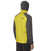 The North Face Thermoball Micro - giacca ibrida con cappuccio trekking - uomo, Yellow/Grey