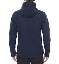 The North Face Zermatt Full Zip giacca con cappuccio, Cosmic Blue Heather/Cosmic Blue