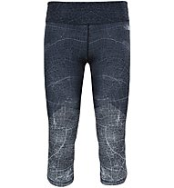 The North Face Motivation Printed Crop Legging - Trainingshose - Damen, Black