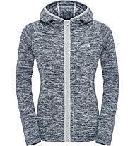 The North Face Nikster Full Zip Hoodie Damen Fleecejacke, Grey