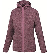 The North Face Nikster Full Zip Hoodie Giacca in pile donna, Violet