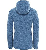 The North Face Nikster Full Zip - Fleecejacke mit Kapuze - Damen, Blue
