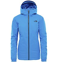 The North Face Quest Insulated - giacca con cappuccio - donna, Light Blue