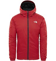 The North Face Quest Insulated - Winterjacke mit Kapuze - Herren, Red