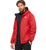 7d8509dddb The North Face Quest Insulated - Winterjacke mit Kapuze - Herren, Red
