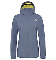 The North Face Quest - Hardshelljacke Trekking - Frauen, Grey
