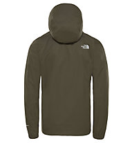 The North Face Quest - giacca hardshell con cappuccio - uomo, Dark Green