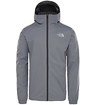 The North Face Quest - giacca hardshell con cappuccio - uomo, Grey
