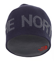 The North Face Reversible TNF Banner Beanie, Cosmic Blue