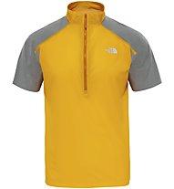 The North Face Shareta 1/4 Zip Tee Herren Pullover mit 1/4 Reißverschluss, Yellow