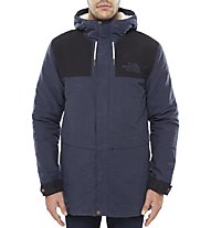 The North Face Sherpa Mountain Jacket - Winterjacke mit Kapuze Herren, Blue