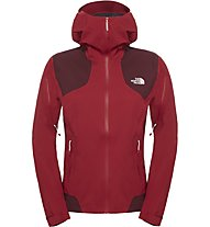 The North Face Shinpuru Jacket Damen Hardshelljacke, Red