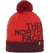 The North Face Ski Tuke V - Bommelmütze, Red