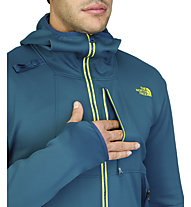 The North Face Men's Snorkie Hoodie, Monterey Blue
