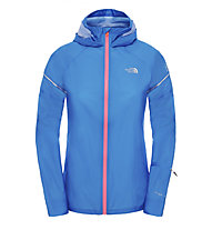 The North Face Storm Stow giacca running donna, Light Blue