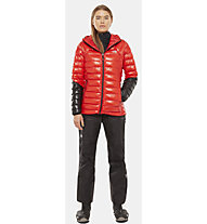 The North Face Summit L3 Down - giacca in piuma alpinismo - donna, Red/Black