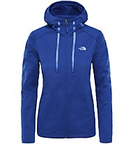 The North Face Tech Mezzaluna - Fleecejacke mit Kapuze - Damen, Blue