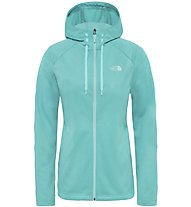 The North Face Tech Mezzaluna - Fleecejacke mit Kapuze - Damen, Light Blue