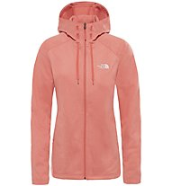 The North Face Tech Mezzaluna - giacca in pile - donna, Orange