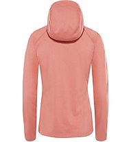 The North Face Tech Mezzaluna - Fleecejacke mit Kapuze - Damen, Orange