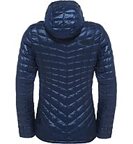 The North Face Thermoball Hoodie Damen Primaloft- und Thermoballjacke mit Kapuze, Blue