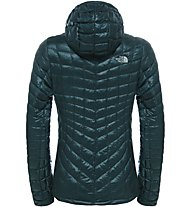 The North Face Thermoball Hoodie Damen Primaloft- und Thermoballjacke mit Kapuze, Green