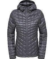 The North Face Thermoball Hoodie Donnen Primaloft Thermoball Giacca con cappuccio, Grey