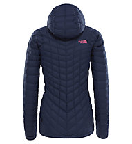The North Face Thermoball - wattierte Wanderjacke mit Kapuze - Damen, Dark Blue