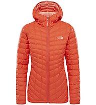 The North Face Thermoball - giacca con cappuccio trekking - donna, Orange