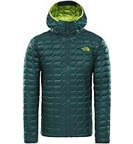 The North Face Thermoball Hoodie - Trekkingjacke - Herren, Dark Green