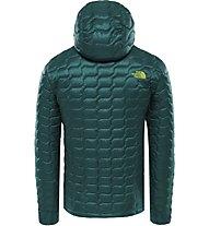 The North Face Thermoball - giacca con cappuccio - uomo, Dark Green