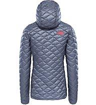 The North Face Thermoball - giacca con cappuccio - donna, Grey