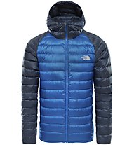 The North Face Trevail Hoodie - Daunenjacke mit Kapuze - Herren, Light Blue/Blue