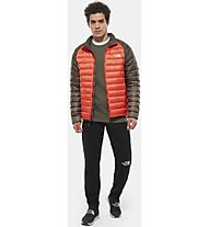 The North Face Trevail - wattierte Wanderjacke - Herren, Orange/Brown