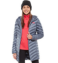 The North Face Trevail Parka - giacca in piuma trekking - donna, Grey