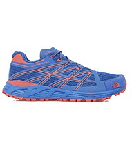 The North Face Ultra Endurance W - scarpe trail running - donna, Dark Blue/Red