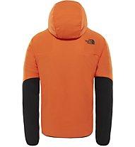 The North Face Ventrix - giacca con cappuccio alpinismo - uomo, Orange/Black