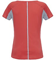 The North Face W Dynamix S/S T-Shirt fitness donna, Grey/Red
